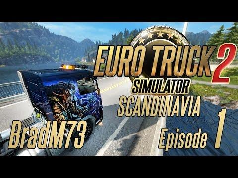 Euro Truck Simulator 2 - Scandinavia DLC - Episode 1