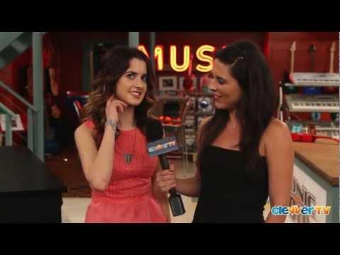 "Laura Marano Interview - ""Austin & Ally"" Set Visit"
