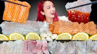 [Mukbang] Raw Fish (sashimi) S…