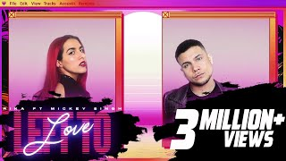 RIKA ft Mickey Singh - Left to Love (Official Video) |  New English Song 2020