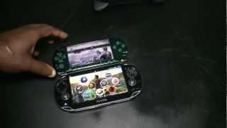 PSP vs PS Vita Ghost Recon