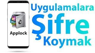 Applock - Uygulamalara Şifre Nasıl Koyulur ? Video