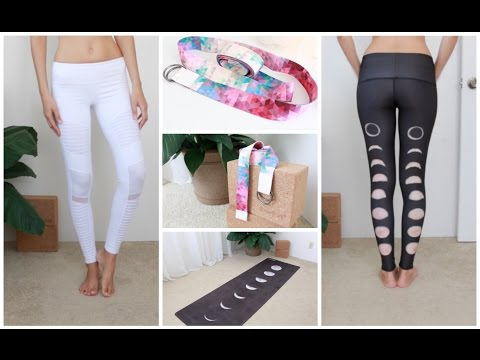 Favorite Yoga Clothing | Props | Mats  + Try-On