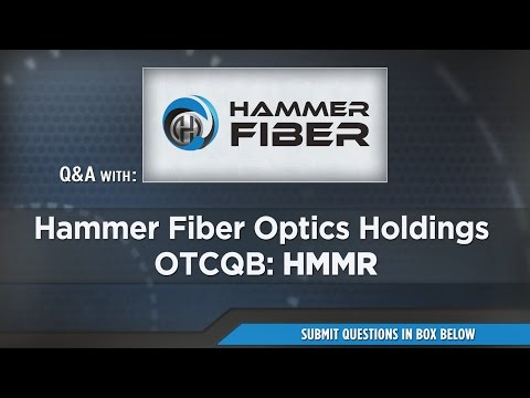 Hammer Fiber Optics Holdings Presentation at RedChip's Jan 2017 Conference