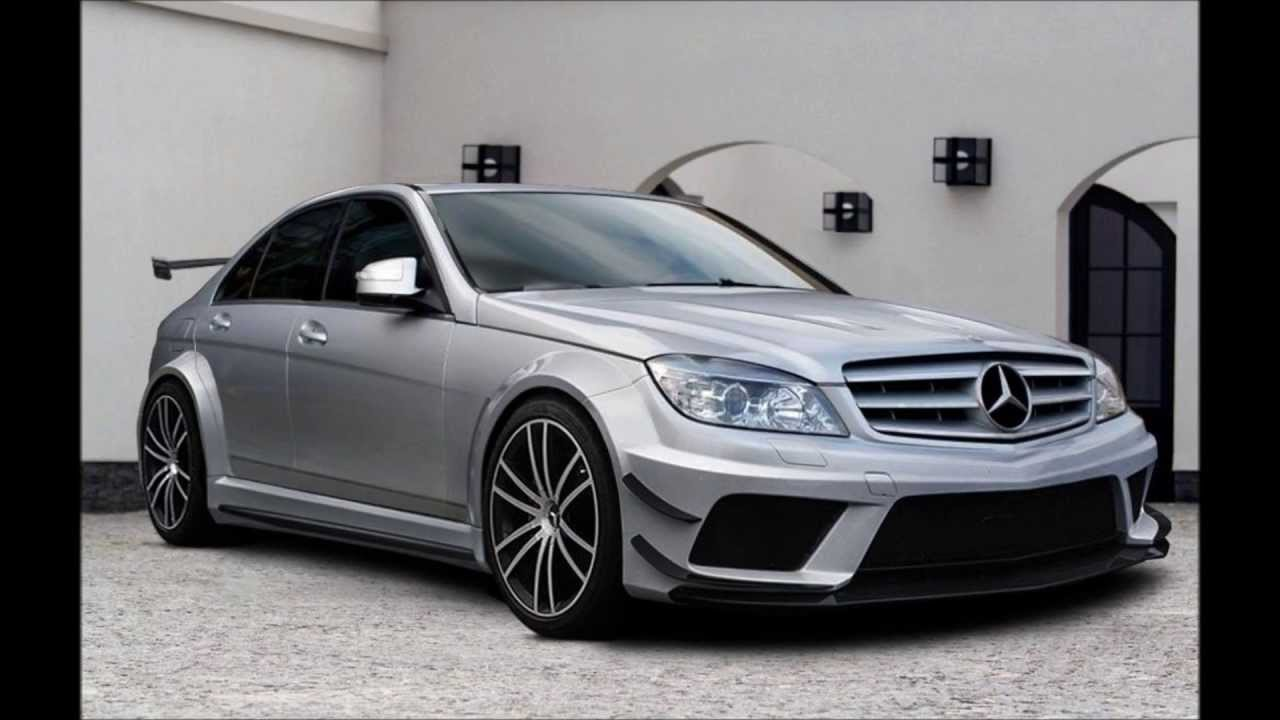 Mercedes C Class W204 Tuning Black Edition Body Kit Youtube