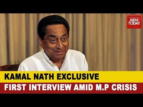 Kamal Nath Exclusive Interview With Rajdeep Sardesai On Madhya Pradesh Political Crisis