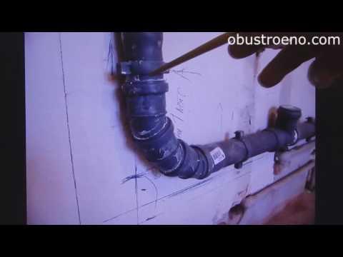 Ошибки монтажа труб водоснабжения и канализации в санузле
