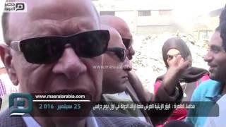 بالفيديو| محافظ القاهرة يشيد بكثافة حضور الطلاب بالمدارس