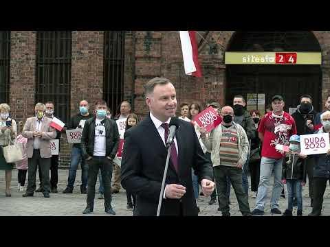 Prezydent Andrzej Duda - Wizyta W Katowicach - Nikiszowiec