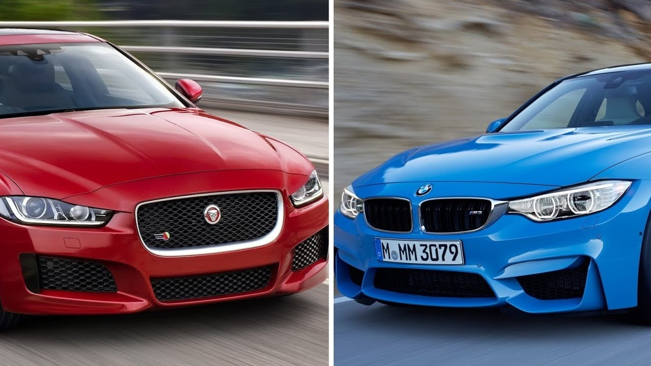 Image result for bmw 3-series vs jaguar xe no copyright photo