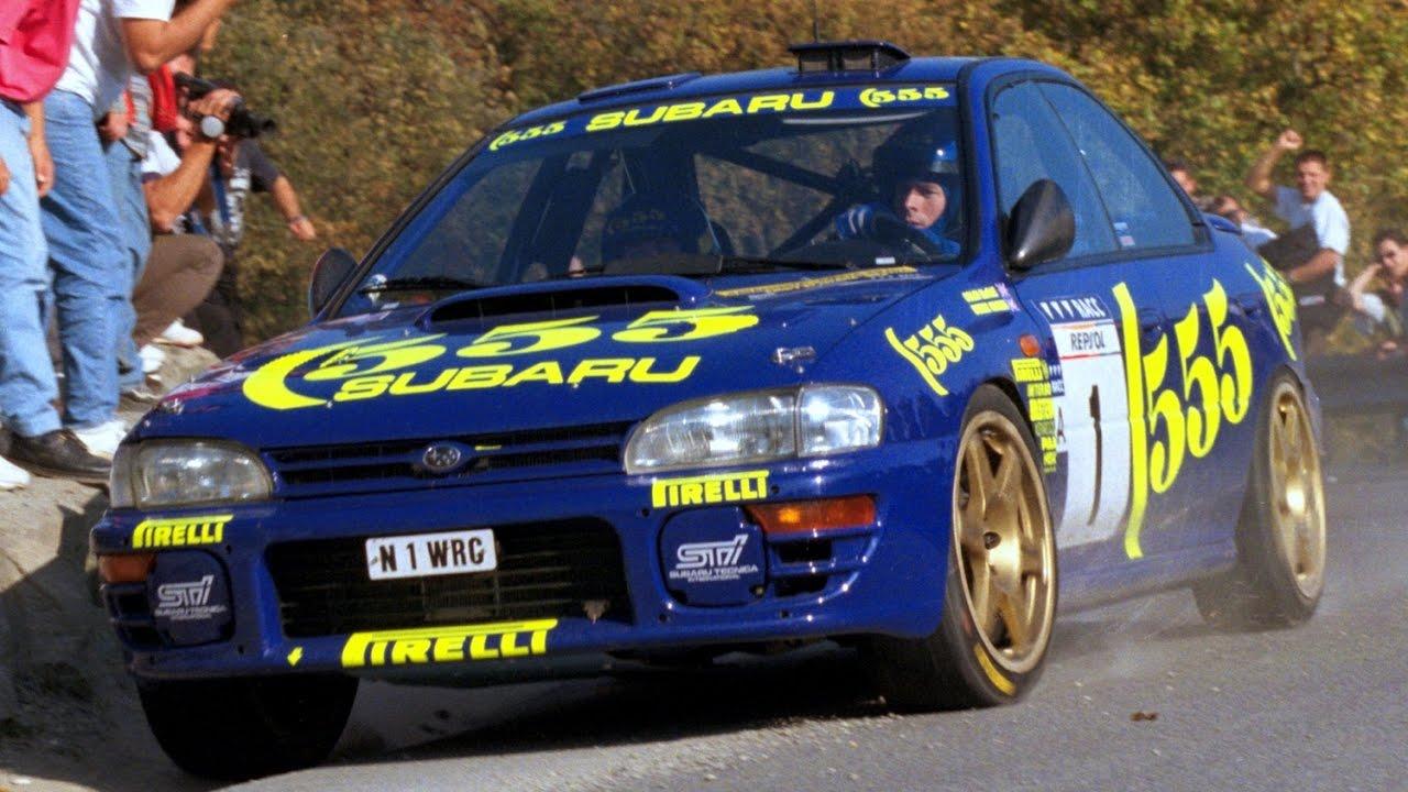 Rally Race Champion Cars History