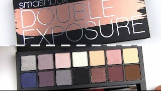 Smashbox Double Exposure Palette: Live Swatches & Review Thumbnail