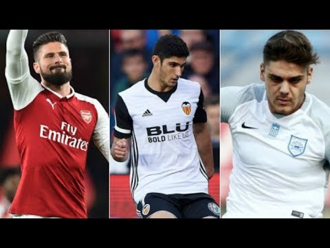 Can Arsenal Keep Giroud, Plus Guedes & Konstantinos Mavropanos Linked | AFTV Transfer Daily
