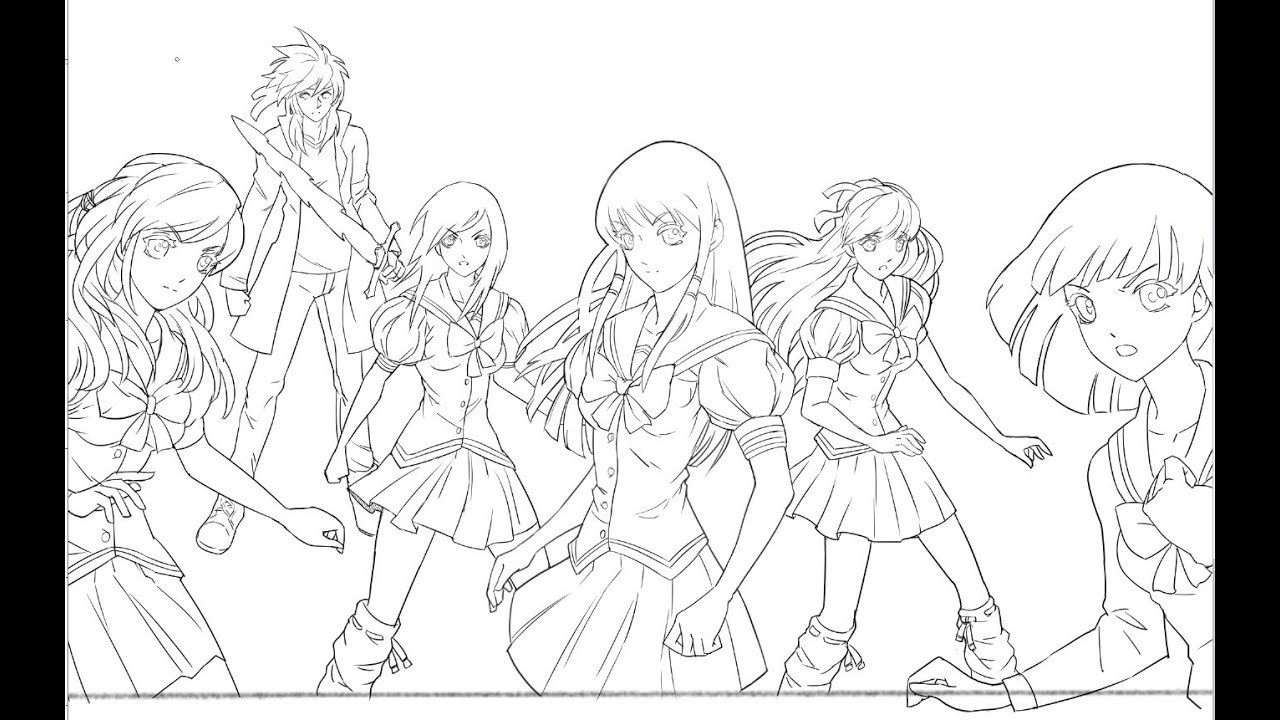 Making Of An Anime Poster! Element Princess Part 4