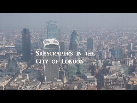A Short Guide to the Skyscrapers in the City of London