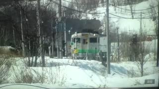 石北本線の普通列車キハ40形です。