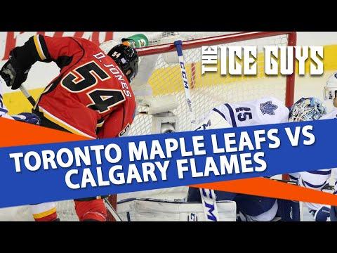 NHL Betting Predictions | Toronto vs. Calgary Preview | Ice Guys