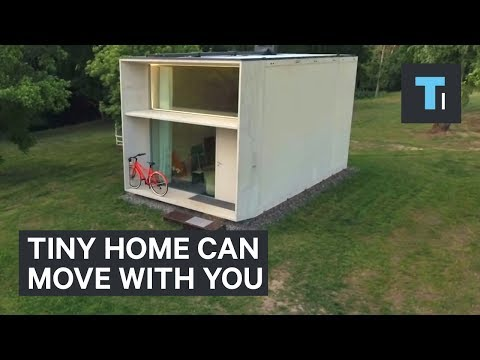 Thumbnail: This tiny home can move with you