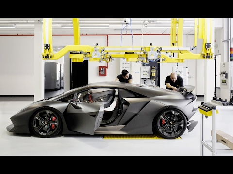 Lamborghini Car Designing and Production | Italian Car | Automobile Engineering | Mechanical