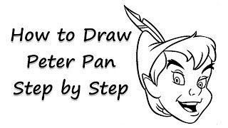 How to Draw Peter Pan Step by Step - by Laor Arts
