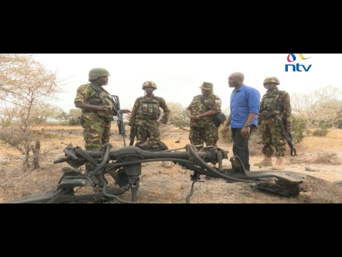 On foot in Kulbiyow: NTV obtains exclusive access to KDF base in Somalia