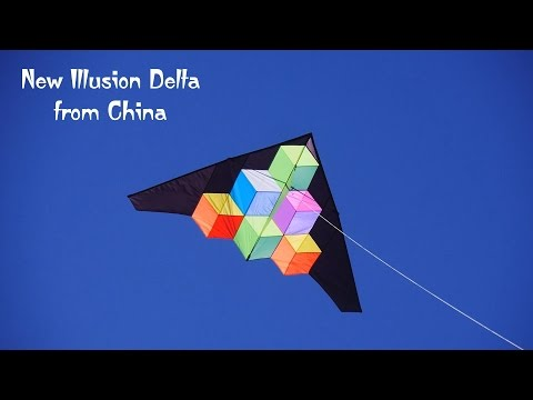 New Illusion Delta Kite from China