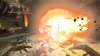 DOOM 4 - Extreme RAGE 1 v 3 (multiplayer) EPIC ENDING