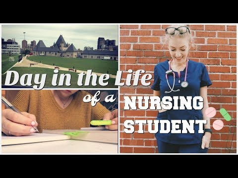 DAY IN THE LIFE OF A NURSING STUDENT – senior year