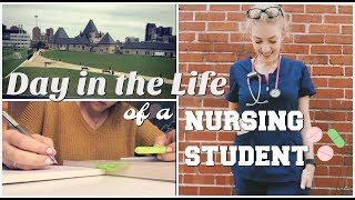 DAY IN THE LIFE OF A NURSING STUDENT - senior year