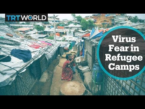 Social distancing not an option for Rohingya refugees