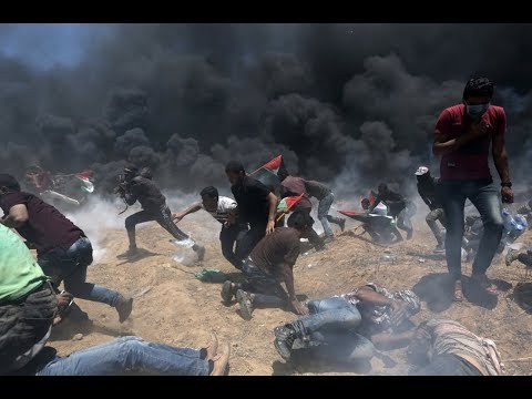 Breaking News: US Embassy move to Jerusalem rejoices, as Smoke, Fire and Blood Stain the Gaza Strip