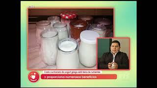 El yogurt griego es uno de los alimentos de mayor crecimiento en el mercado