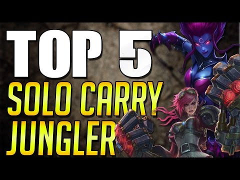 Top 5 Solo Carry Jungler German - League of Legends