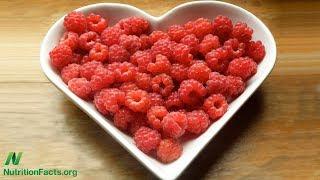 Tlumení shlukování (agregace) krevních destiček bobulovitým ovocem
