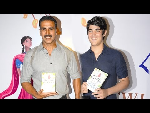 Akshay Kumar With His HANDSOME Son Aarav Kumar