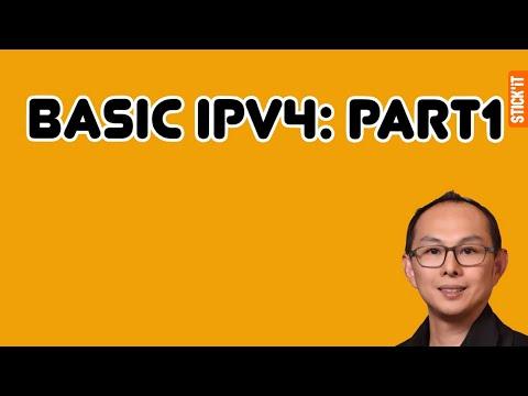 เบสิค พื้นฐาน IPv4 ตอนที่ 1