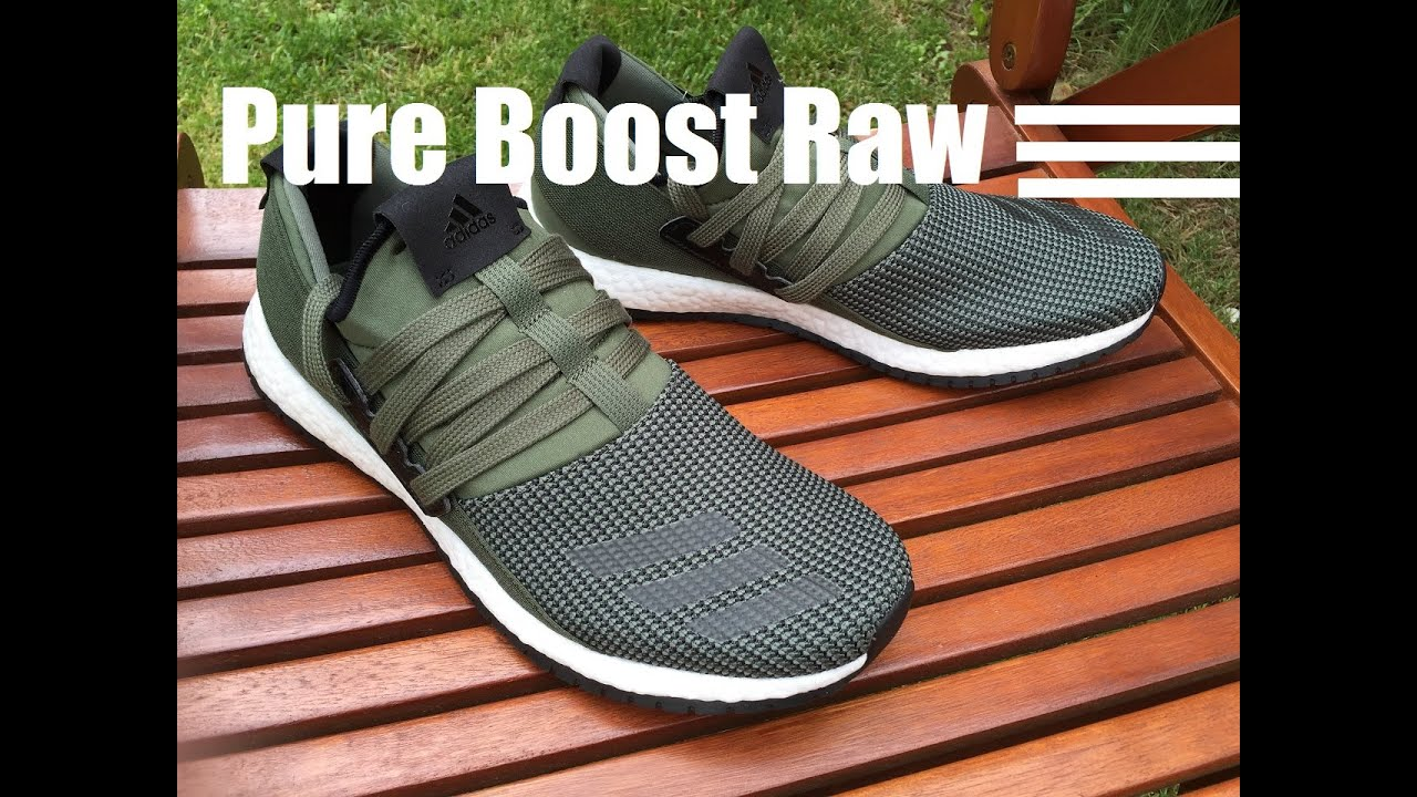 76f3dc7207566 Adidas Pure Boost Raw - Unboxing   On Feet HD - YouTube