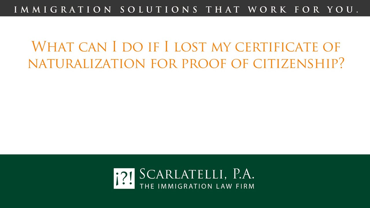 What can i do if i lost my certificate of naturalization for proof what can i do if i lost my certificate of naturalization for proof of citizenship xflitez Images