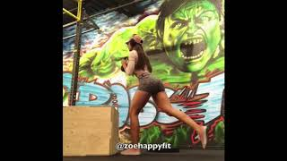 Tone your thighs by Zoehappyfit