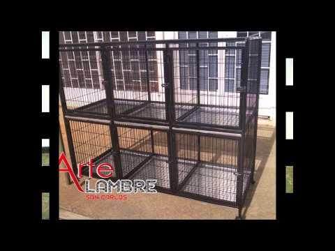 Jaulas para toda clase de animales - YouTube