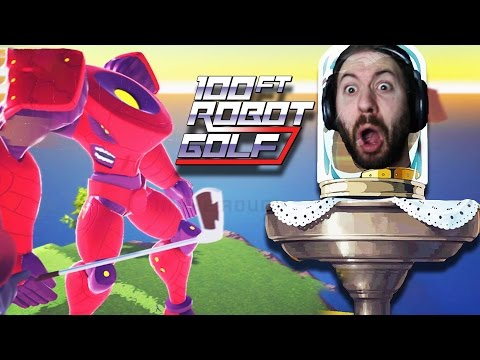 NEVER BEEN MORE ANGRY IN MY LIFE | 100 FT Robot Golf
