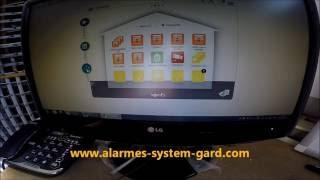 Présentation, intégration, scénario,  détecteur de fumée IO pour TaHoma www.alarmes-system-gard.com