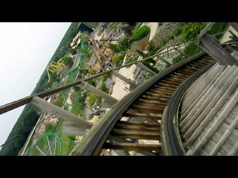 Troy front seat on-ride HD POV Toverland