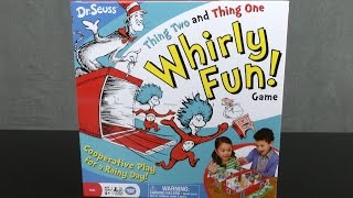 Dr. Seuss Thing Two and Thing One Whirly Fun Game from Wonder Forge