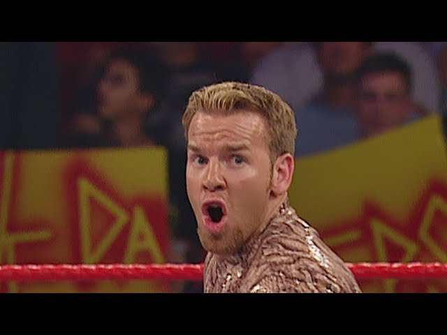 Christian and Booker T compete in a Spinaroonie Challenge: Raw, June 9, 2003