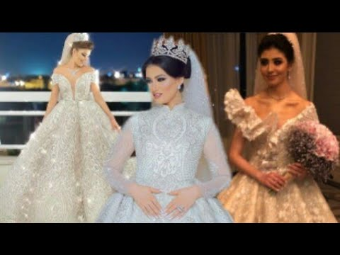 03e718470aaf0 Most beautiful wedding gowns by SAMO HAGRAS - YouTube