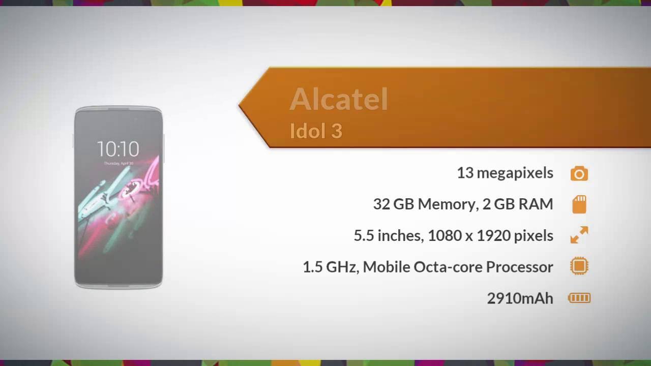 Alcatel Idol 3 Specifications - Daraz pk