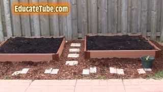 Diy Beautiful Backyard Vegetable Garden Bed For Under 100 Dollars- Cool Weekend Outdoor Project