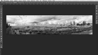 Assembler des photos pour faire un panoramique dans Photoshop