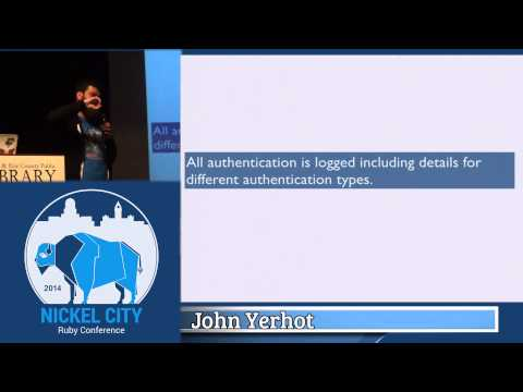 Nickel City Ruby 2014- Can't Touch This!: When Things go Wrong With an Appliance